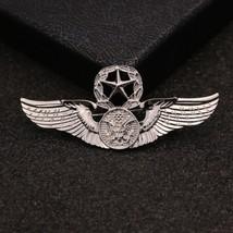 New Brooch Pin Men Lapel Suit Stick Collar European And American Militant Badge image 2