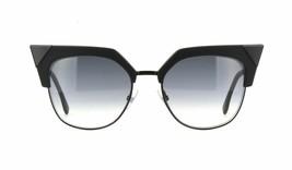 NEW FENDI IRIDIA FF 0149/S Black/Grey Shaded (807/9O B) Sunglasses image 2