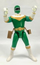 "Vintage Power Rangers Zeo Green Ranger 5.5"" Action Figure Toy 1996 Bandai - $9.99"