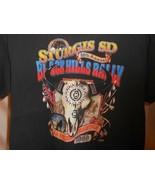 1999 Sturgis Motorcycle Rally 59th Annual Black Short Sleeve T Shirt Siz... - $33.95