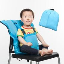 Baby Bag Chair Portable Infant Feeding Seat Safety Belt Booster Seats Fo... - $17.60