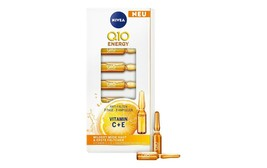 NIVEA Q10 ENERGY  GLOW BOOSTING FACE AMPOULE  SERUM With Vitamin C + E 7... - $25.34