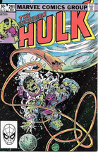 The Incredible Hulk Comic Book #281 Marvel 1983 FINE+ - $2.25
