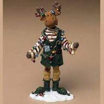 "Boyds Moosetroop ""Milo Binglemoose.. Santas Helper"" #36915 -New- 2004 - $39.99"