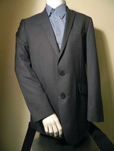 Kenneth Cole Reaction Rayon Blend Gray Small Checks Blazer Sports Coat ... - $32.50