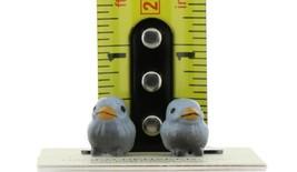 Hagen Renaker Miniature Bird Bluebird Tweety Baby Chicks Set of 2 Figurines image 2