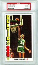 1976 Topps Paul Silas #3 PSA 9 P880 - $38.63