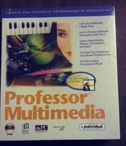 VTG Professor Multimedia 2.0 Software Windows CD-Rom Big Box 1994 Tutor ... - $12.99