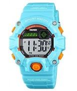 Boys Girls LED Sports Watch,Waterproof Digital Electronic Casual Milita... - £27.18 GBP