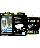 Lot of 3 Phone Chargers Samsung, iHip New in open box! - $15.46