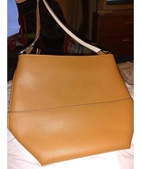 H&M tan bucket shoulder bag faux leather - $18.00