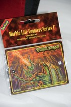Toy Vault Marble Life Counters Series I * Mithril Dragon  2002 FACTORY S... - $2.92