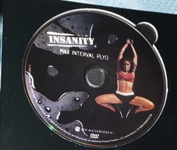 Beach Body Insanity Max Interval Pylo Workout Replacement DVD   - $9.30