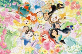 Tenyo Jigsaw Puzzle Disney Floral Dream 1000 Piece Japan - $72.24