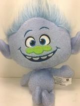 Dreamworks Hasbro Talking Trolls Guy Diamond 12 Stuffed plush 2015 Toy - $20.37