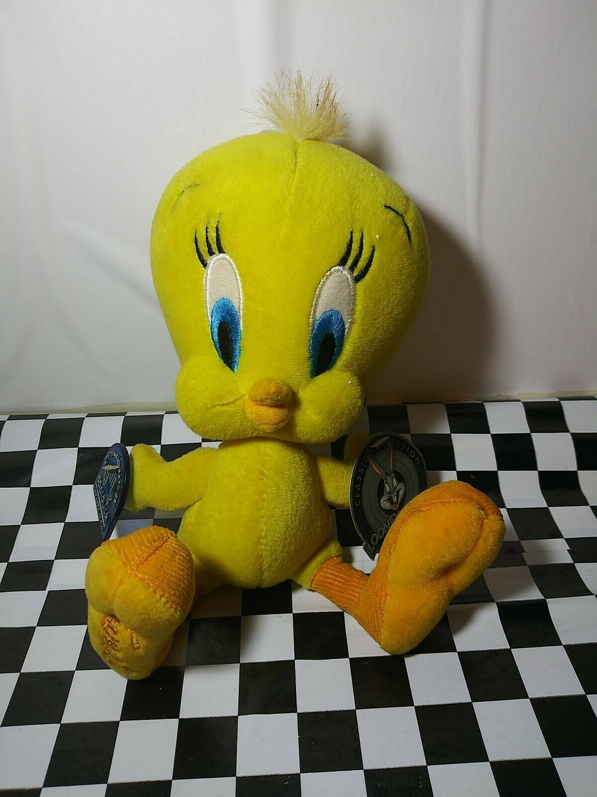 Primary image for Applause Looney Tunes Tweety Bird Stuffed Animal W/tags 8""