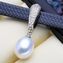 Pearl Necklace Natural ntage Neck Chain Necklace For Gift - $22.00