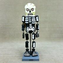 """Skeleton Wooden 14"""" Nutcracker Legs Arms Wiggle Halloween Figure Limited... - $455,49 MXN"""