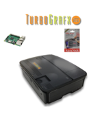 Mini TurboGrafx 16 gaming system Raspberry pi 3 installed 64Gb  - $99.99