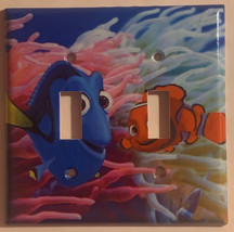 Finding Nemo & Dory Light Switch Power Outlet Wall Cover Plate Home decor image 3