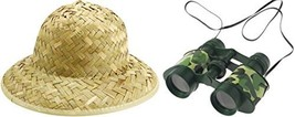 Jungle Safari Adventure Set - Pith Hat + Camouflage Binoculars - €5,81 EUR
