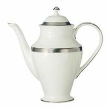 Waterford China Newgrange Platinum Beverage Server Coffee Pot NEW - $158.39