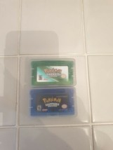 POKEMON GAMES EMERALD & SAPPHIRE GBA GAMEBOY ADVANCE DS  - $16.88