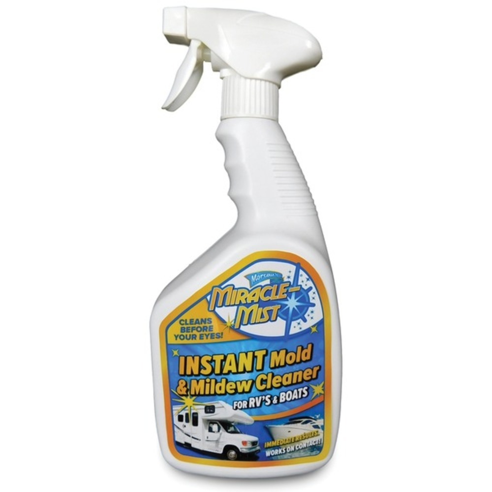 Primary image for MiracleMist MMRV-4 Instant Mold and Mildew Cleaner for RVs and Boats (32-Ounce S