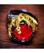 HAUNTED RING: ULTIMATE DRACONIC WEALTH MAGICK! ANCIENT DRAGON POWER! PRO... - $99.99