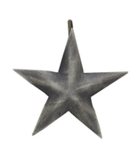 "Star Shower Curtain 3"" Hook~ Rustic Bath Farmhouse decor ~ Aged Metal - $1.97"