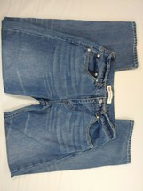 "Boys Levi's 505 Straight relaxed 18 Blue Jeans 28"" inseam (dl) - $11.88"