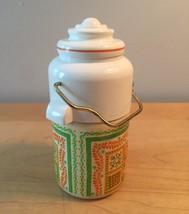 70s Avon Chimney Lamp rare cologne mist bottle with golden handle (Patchwork) image 2