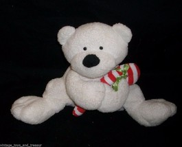 2005 Ty Pluffies Bambino Candy Canna Orsacchiotto Natale Peluche Giocattolo - $9.90