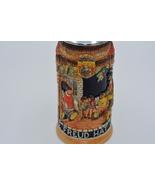 Vintage German Beer Stein / Auch Die Freud Hat Ihre Zeit - $145.00