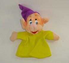 Vintage Disneyland Plush Dopey Snow White Seven Dwarfs Hand Puppet - $8.70