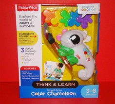 Think & Learn Smart Scan Color Chameleon Fisher-Price Interactive Learning Toy - $18.00