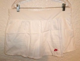 NIKE WOMEN'S TENNIS SKIRT SIZE L WHITE - $9.75
