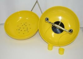 Bradley S19310 Combination Drench Shower Eye Wash Unit Plastic Bowl image 3