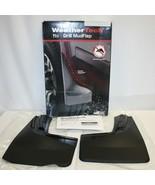 WeatherTech No-Drill MudFlaps for Chevy Silverado No Fender Flares Full Set - $39.59