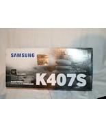 New Genuine Samsung K407S CLT-K407S Black Toner Cartridge Rare - $43.71