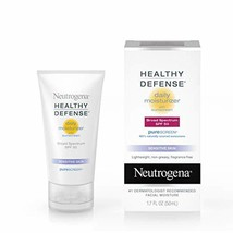 Neutrogena Healthy Defense Daily Moisturizer for Sensitive Skin with SPF... - $14.92