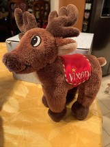Dan Dee Vixen Rudolph The Red Nosed Reindeer Stuffed Plush Doll Collecto... - $14.99
