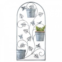 Butterfly Trellis With Flower Pots - $30.20