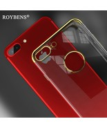 Roybens® Gold Plating Transparent Clear Case For iPhone 6 6S - $4.88
