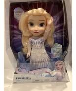 Jakks Disney Frozen 2 Magic In Motion Queen Elsa Doll Sings New Free Sh... - $31.04