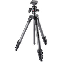 Manfrotto MKCOMPACTADVBH Aluminum Tripod Compact Advanced with Ball Head - $98.99