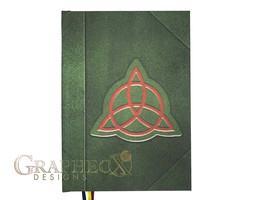 Fan-made Book of Shadows Charmed inspired personalized hardcover journal noteboo - $36.00