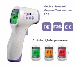 Infrared Thermometer Forehead Digital Non Contact Adult Baby Temp:ture B... - $11.88