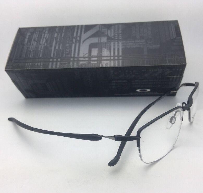 2a59b987ae OAKLEY Eyeglasses LIZARD 2 OX5120-0351 51-18 Semi-Rimless TITANIUM Satin  Black