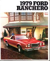Original 1979 Ford Ranchero Brochure  6 Page  - $10.44
